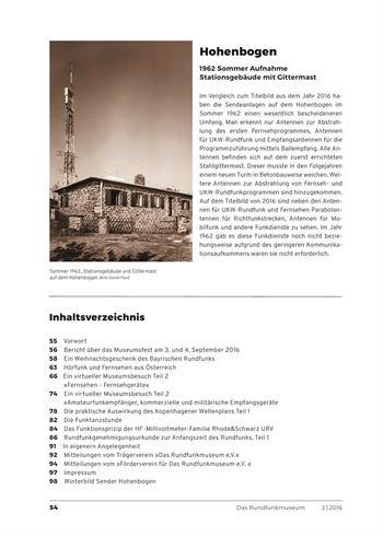 Inhaltsverzeichnis Heft 2