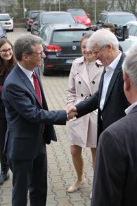 Besuch des Kultusministers